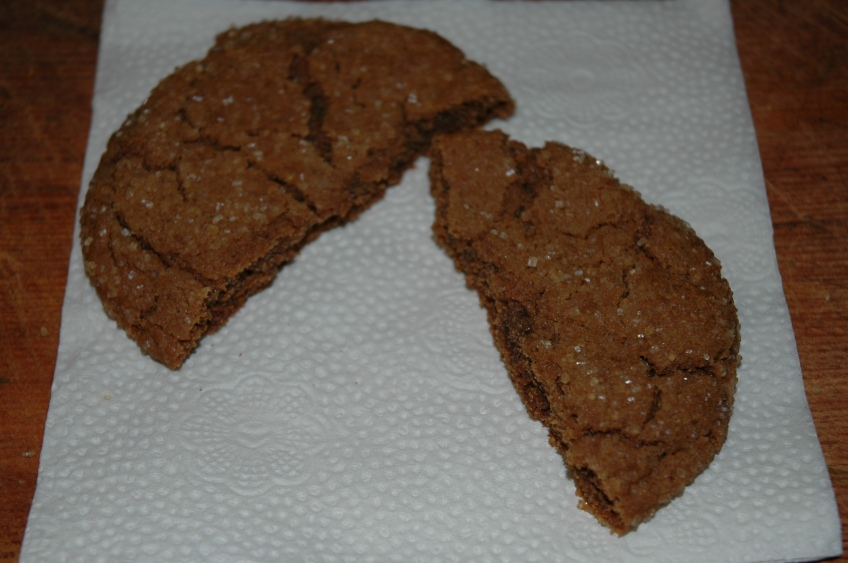Giant Ginger Cookie by Bakewell Junction