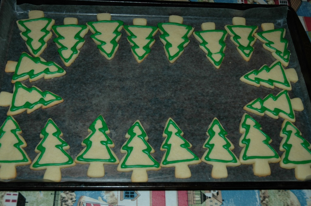 Christmas Tree Vanilla Sugar Cookies by Bakewell Junction 2