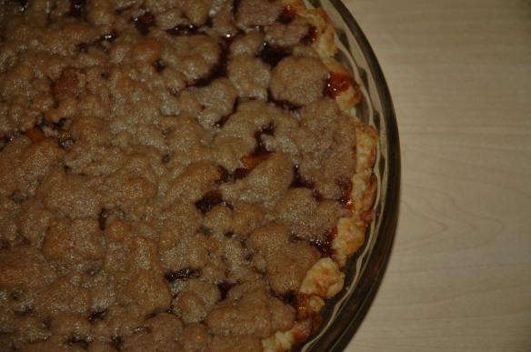 Apple Crumb Pie by Bakewell Junction