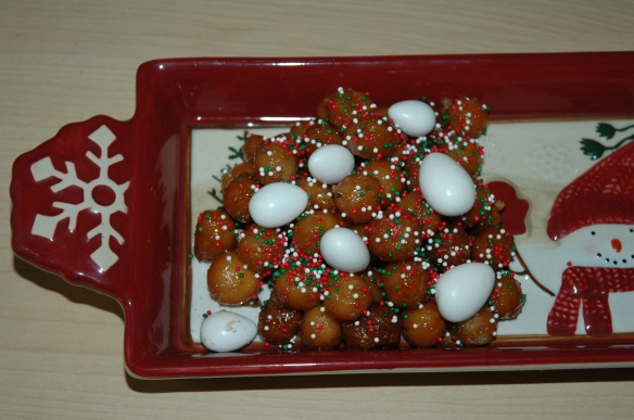Struffoli by Bakewell Junction