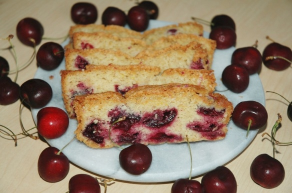 Fresh Cherry Quick Bread | Bakewell Junction
