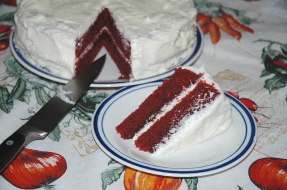 Red Velvet Cake with Cream Cheese Frosting | Bakewell Junction