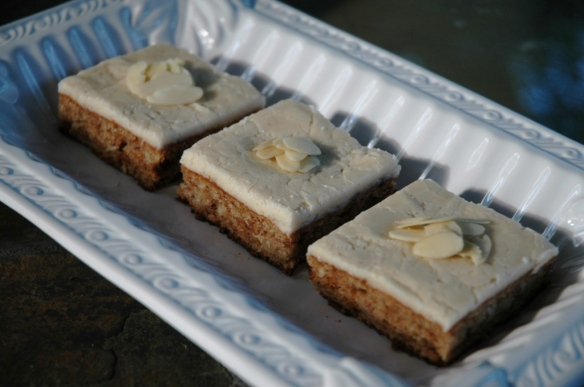 Chunky Monkey Almond Banana Bars | Bakewell Junction