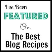 ive been featured on the best blog recipes button pic
