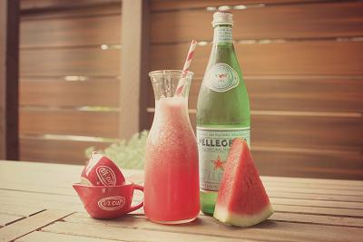 Sparkling Watermelonade from Rustic Peach