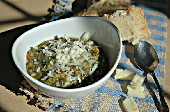 Spinach Split Pea Soup | Bakewell Junction