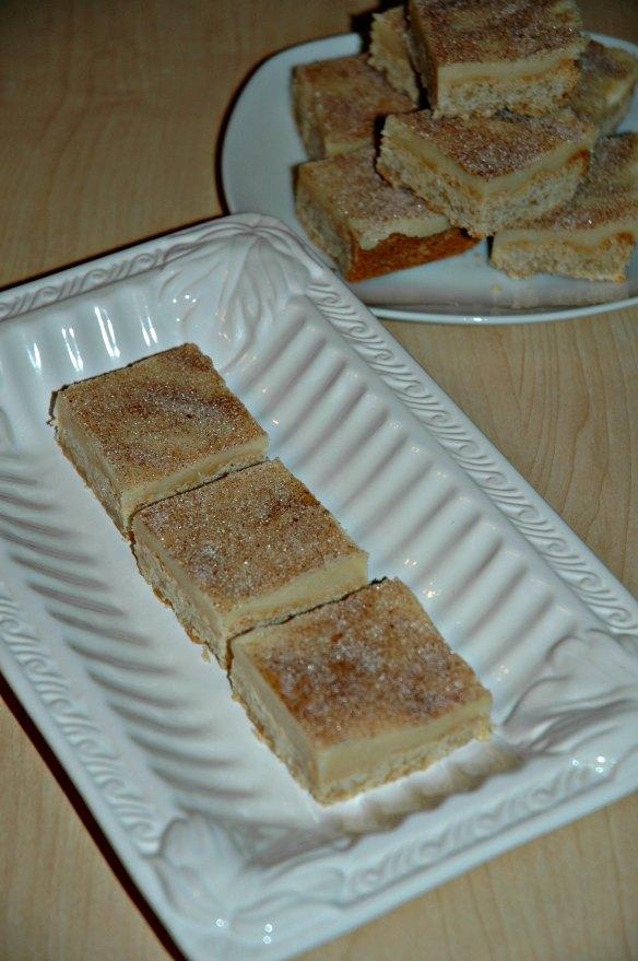 Snickerdoodle Cookie Dough Bar | Bakewell Junction