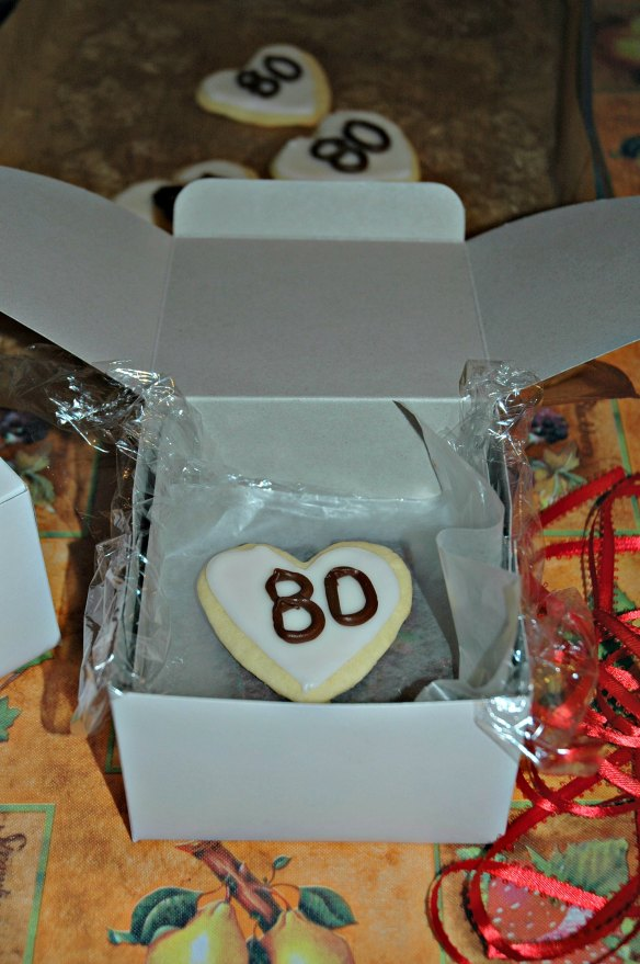 Vanilla Sugar Cookie Hearts | Bakewell Junction