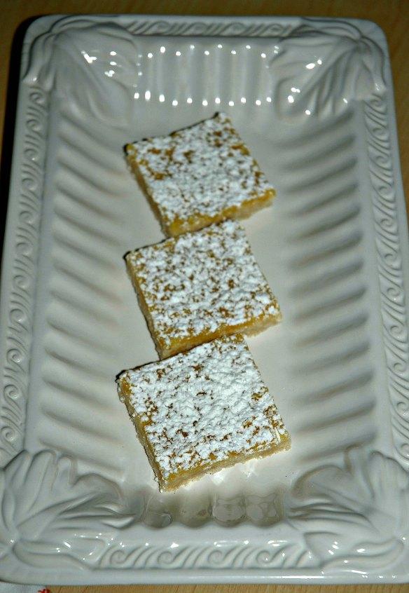Meyer Lemon Curd Bars | Bakewell Junction - sweet and tart deliciousness.