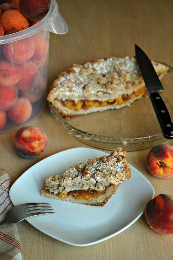 Ultimate Crumb Peach Pie | Bakewell Junction